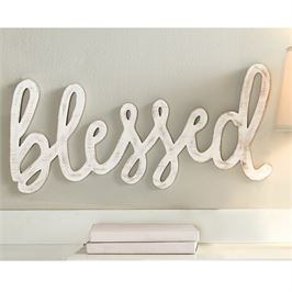 Blessed Word Wall Art