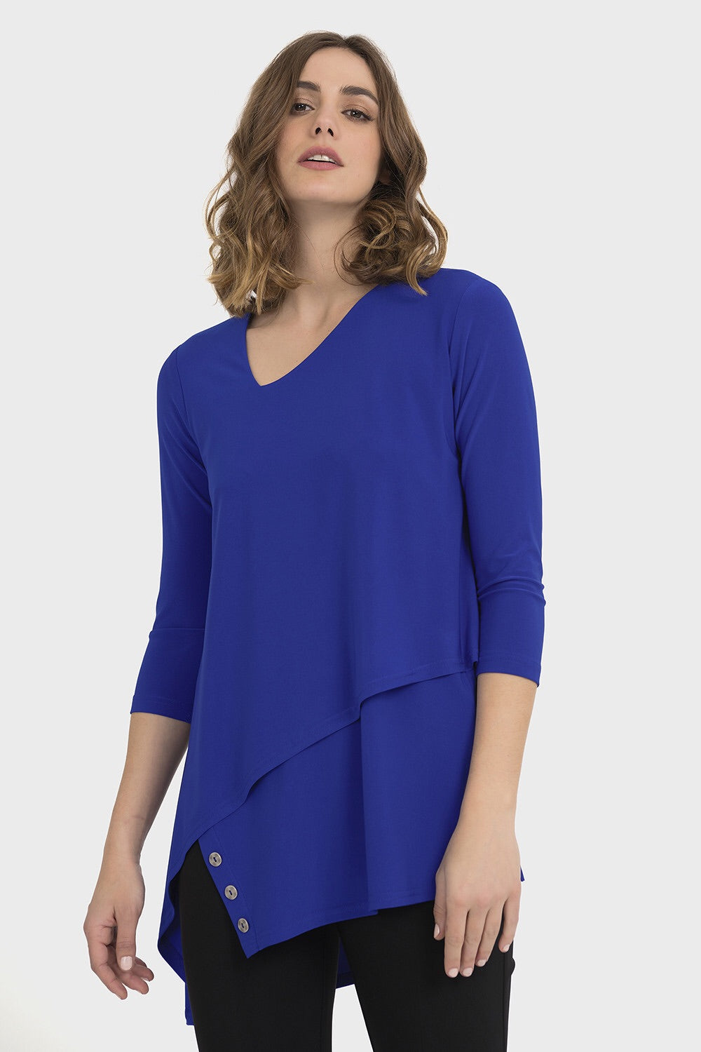 Joseph Ribkoff Tunic Style Top With Buttons