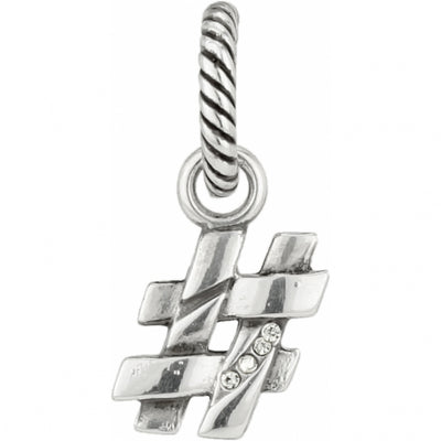 ABC Number Sign Charm