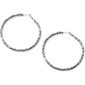 Pebble Large Hoop Earrings