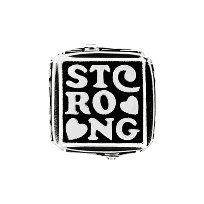 Strong Faith Cube Bead