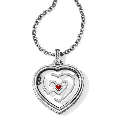 Labyrinth Heart Necklace