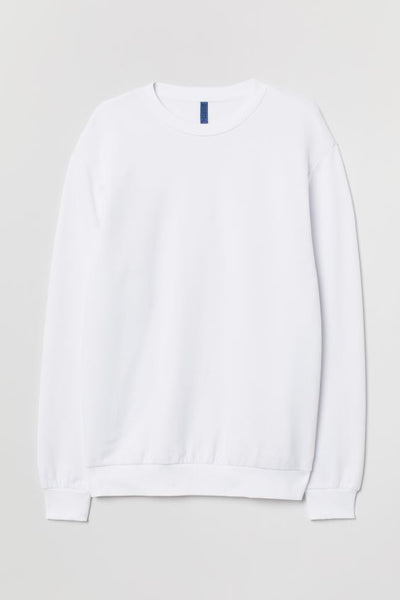White x Sweatshirt