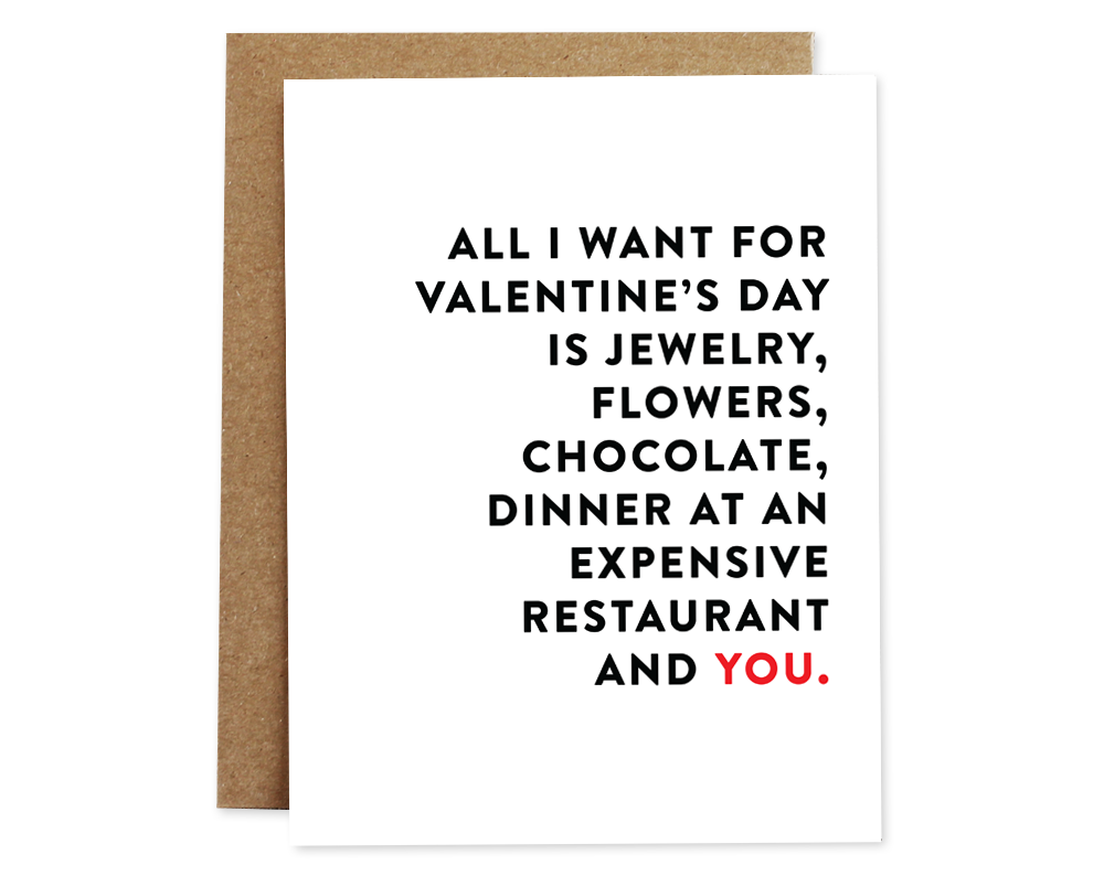 Perfect Valentine's Day Card