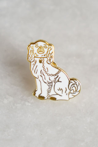 Staffordshire Dog Pin