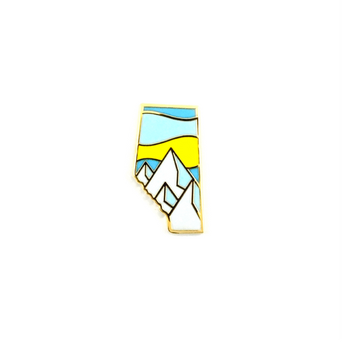 Alberta Rockies Pin
