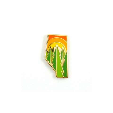 Alberta Sunshine Pin