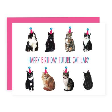 Future Cat Lady Card