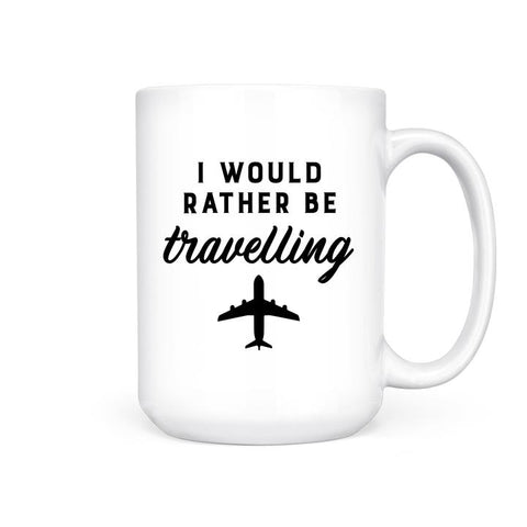 PBH I'd Rather Be Travelling Mug