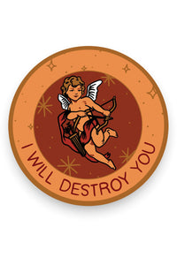 Destroy (Cupid) Vinyl Sticker