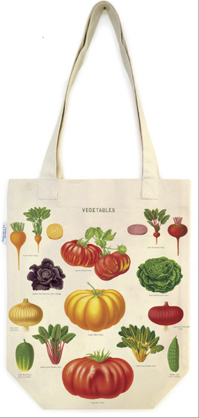Cavallini Tote Bag - Vegetable Garden