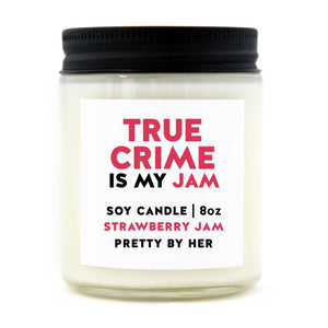 PBH True Crime Is My Jam Candle
