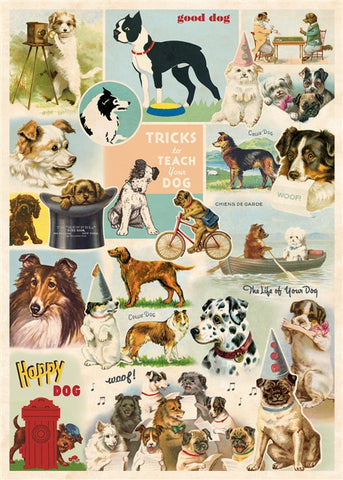 Dog Collage Poster Wrap