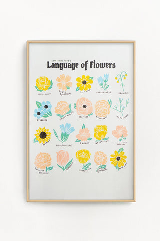 Language of Flowers Print