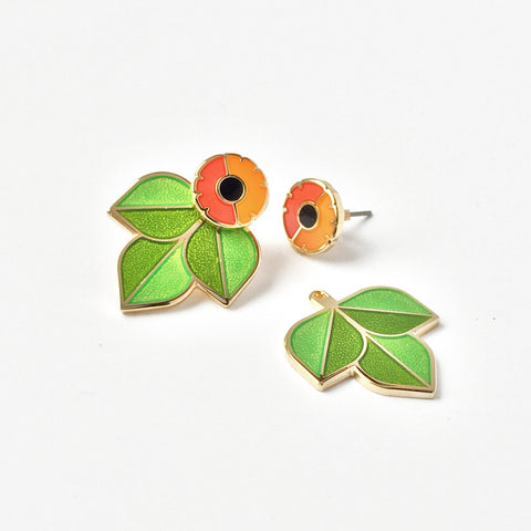 Garden Jacket Earrings