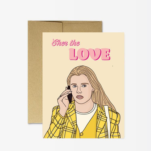 Cher The Love Card