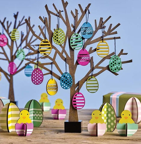 Easterly Egg Decoration Set