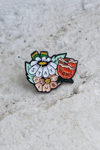Wallflower Pin
