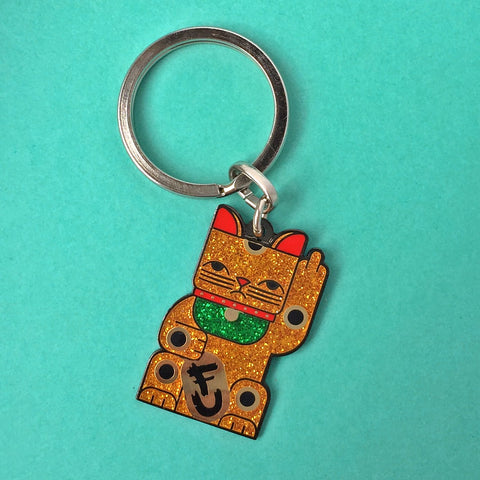 Goodbye Kitty Keychain