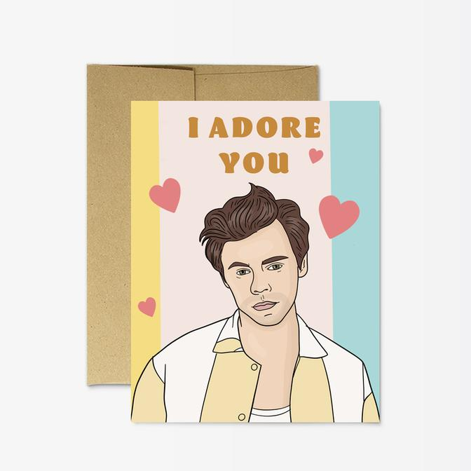 Harry Adore You Card