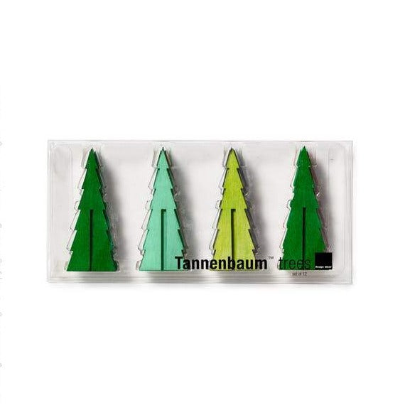 Mini Green Tannenbaum Tree Set