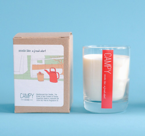 Fresh Start - Campy Candle