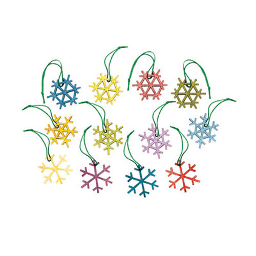 Alpine Snowflake Ornament Set