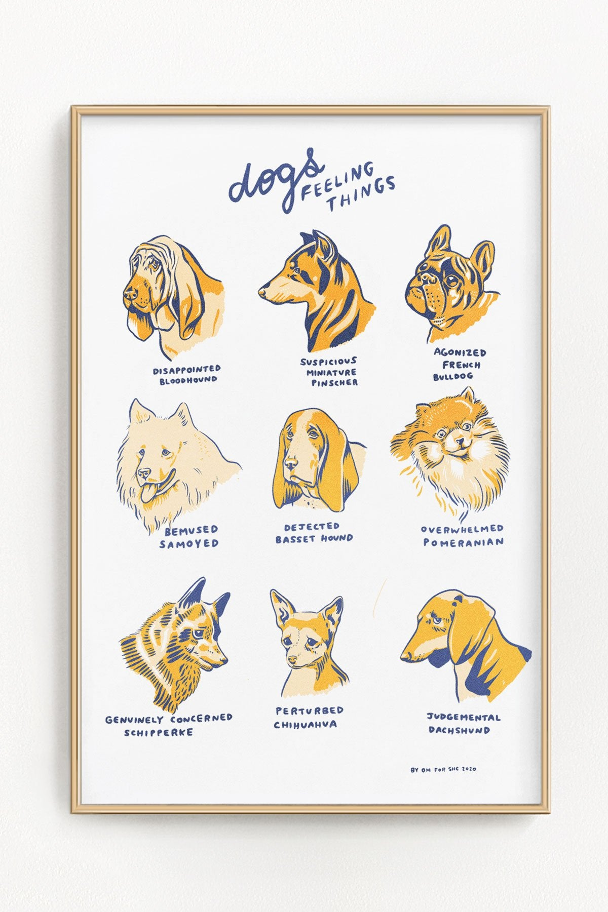 Dogs Feelings Things Print