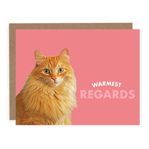 Warmest Regards Card