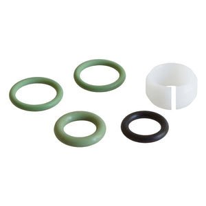 Gasket set for extension tube made of aluminium