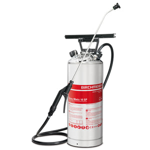 Spray-Matic 10 SP, stainless steel hand pump and compressed-air union