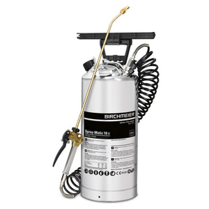 Spray-Matic 10 S, hand pump and compressed-air union