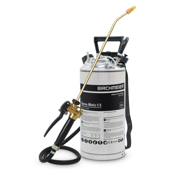 Spray-Matic 5 S, hand pump and compressed-air union