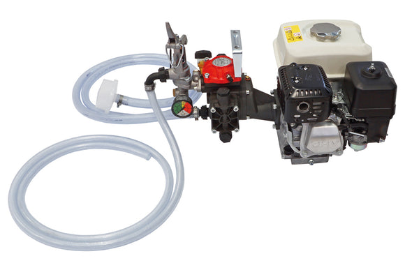 Gas powered pump, Honda 4-cycle gas engine GP 160, pump AR 252 *