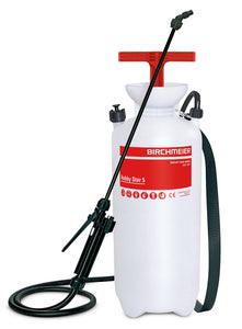 Hobby Star 5, compression sprayer with carrying belts