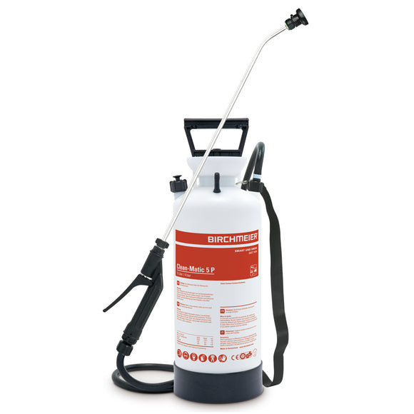 Clean-Matic 5 P, compression sprayer with fanjet nozzle (acids)
