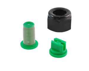 Repair set for spray boom 4 bar, compression fitting (nozzle, nut, filter, 1 pcs of each)