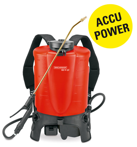 REC 15 ABZ, backpack sprayer (15 litres) (battery Li-Ion 18 V), incl. battery charger (240 V)