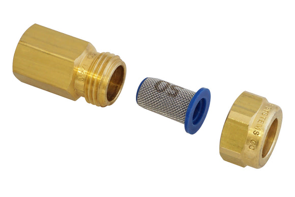 Nozzle holder brass G1/4\i