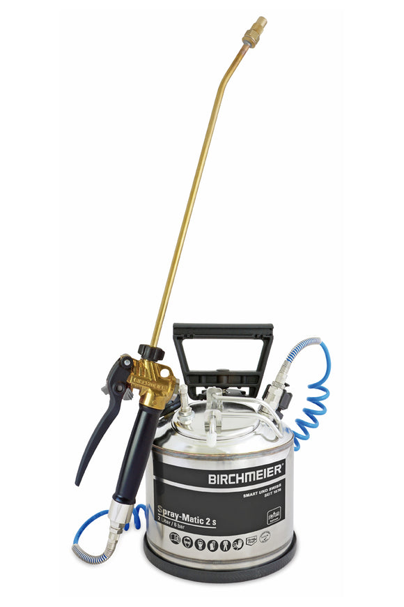 Spray-Matic 2 S, hand pump and compressed-air union