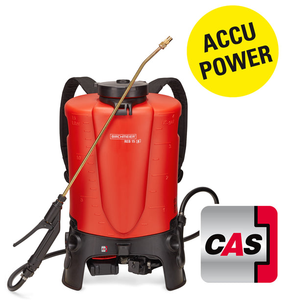 REB 15 AC1, backpack sprayer (15 litres) incl. battery pack and charger EU