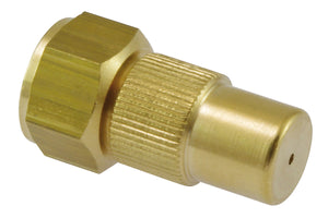 "Adjustable nozzle 1.3 mm, brass with G1/4""i thread"