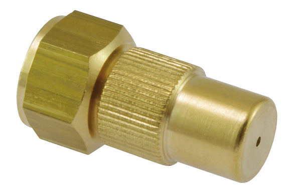 Adjustable nozzle 1.3 mm, brass with G1/4