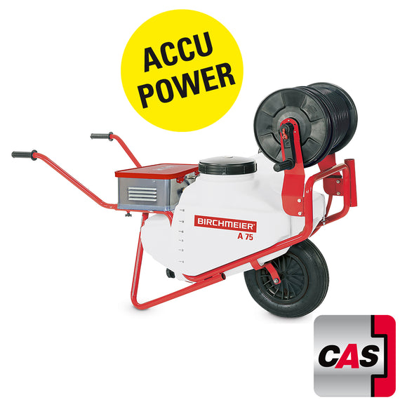 A 75 AC1, wheelbarrow sprayer (75 litres) with accu pump station BM 1035 *