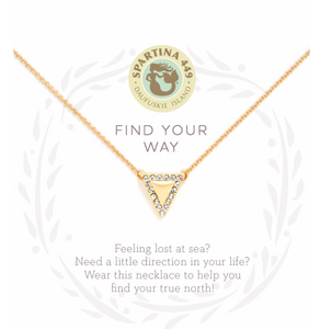 Sea La Vie Necklace Find Your Way/Arrow