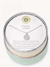 Load image into Gallery viewer, Sea La Vie Necklace Animal Lover/Paw