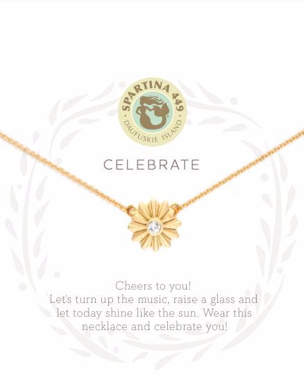 Sea La Vie Necklace Celebrate/Sunburst