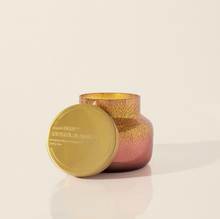 Load image into Gallery viewer, Tinsel & Spice Bronzed Berry Glittered Ombre Candle