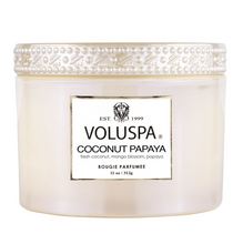 Load image into Gallery viewer, Coconut Papaya Corta Maison Candle