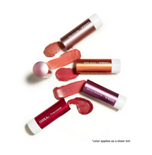 Load image into Gallery viewer, Mineral Liplux Organic Tinted Lip Balm Sunscreen